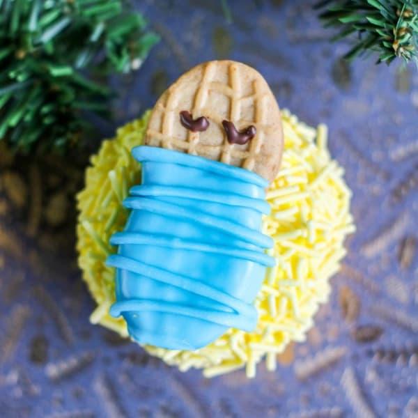 Baby Jesus Cupcakes