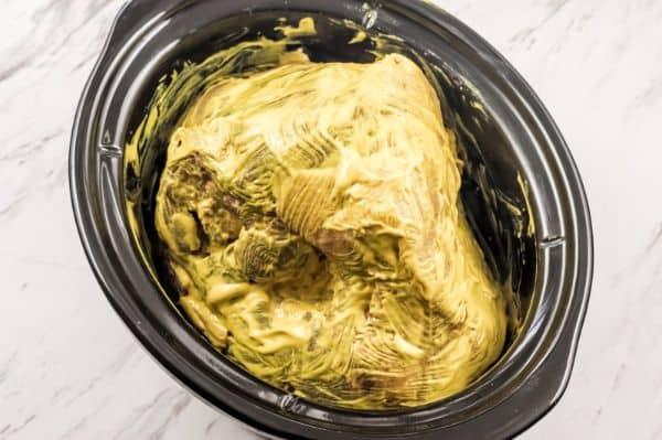 how to make honey mustard glazed ham in the crockpot