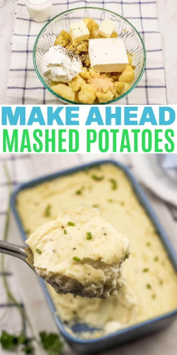 Easy Make Ahead Mashed Potatoes