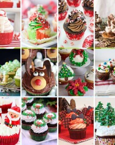 Adorable Christmas Cupcake Ideas