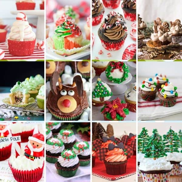 Adorable Christmas Cupcake Ideas