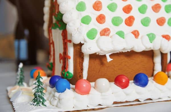 easy gluten-free gingerbread house