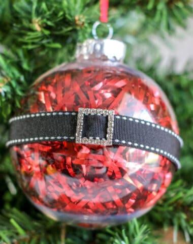 Santa Belly Ornaments