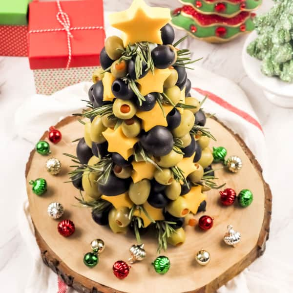 Christmas appetizer tree