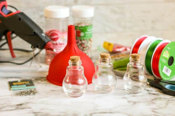supplies for sprinkle ornaments