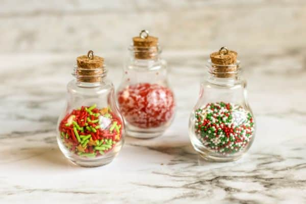 easy steps for making sprinkle ornaments