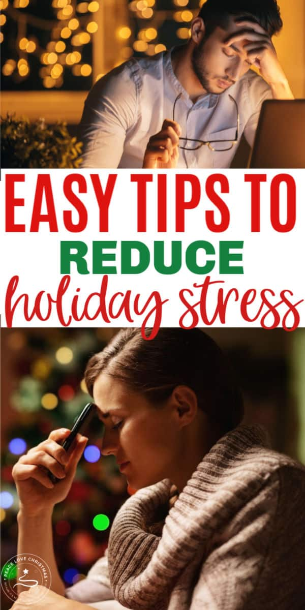 easy tips to reduce holiday stress