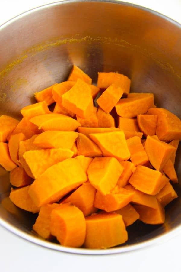 steps for making sweet potato casserole