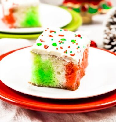 Christmas Jello Poke Cake you will love
