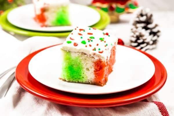 Christmas Jello Poke Cake you will love