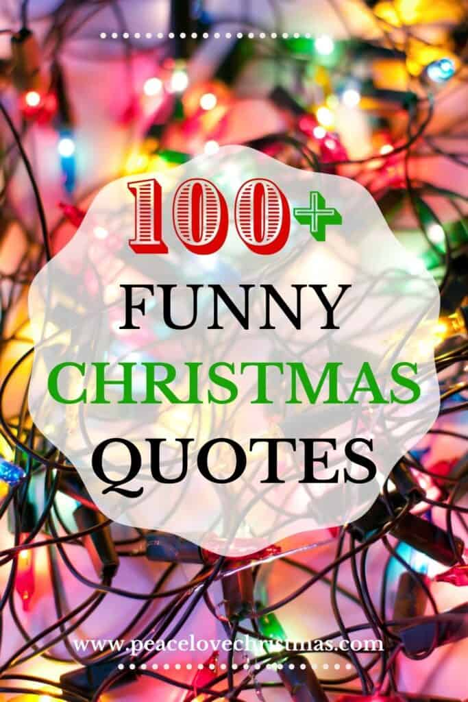 over 100 funny Christmas quotes