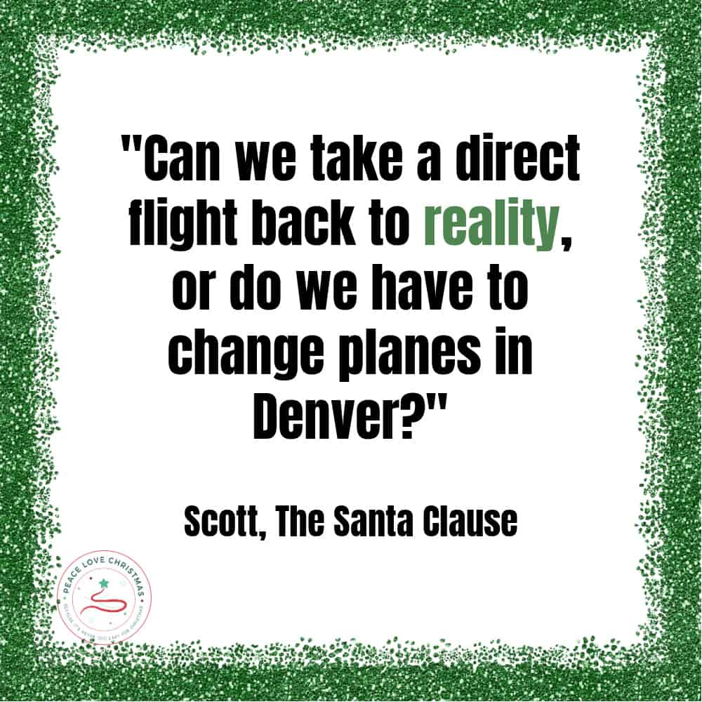 Christmas quote from The Santa Clause