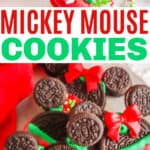 Easy Mickey Mouse Christmas Cookies