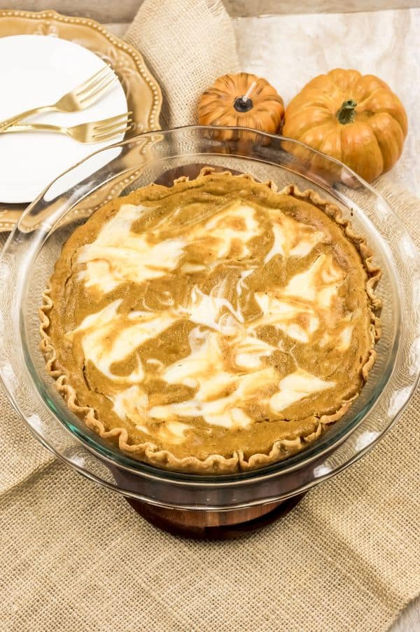 pumpkin cream cheese pie