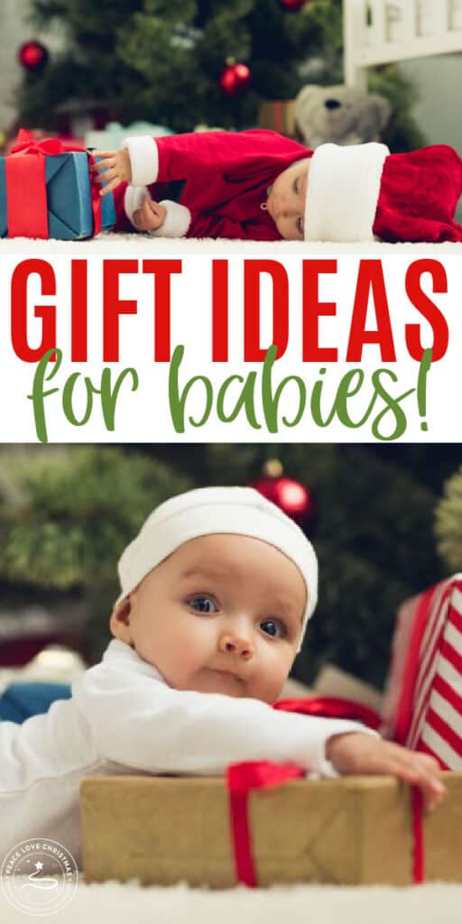 best Christmas gifts for a baby