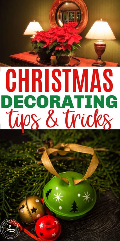 easy Christmas decorating tips and tricks