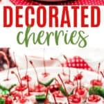 Christmas Chocolate Covered Cherries