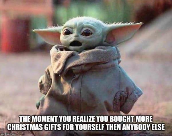Baby Yoda Christmas Memes