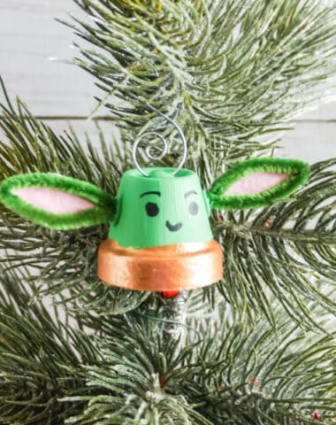 DIY Baby Yoda Inspired Ornament