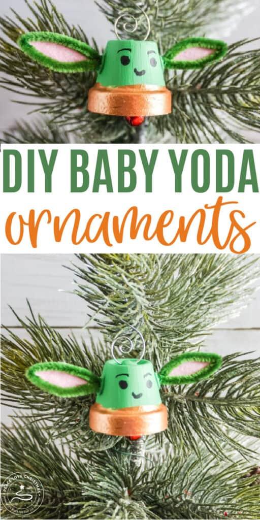 DIY Baby Yoda Inspired Ornament