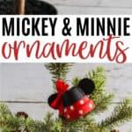 DIY Mickey Bell Ornament