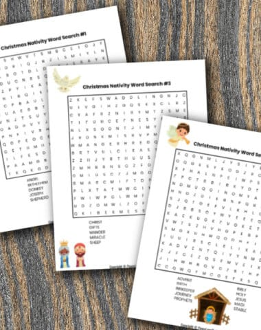 Christmas Nativity Word Search