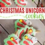 How to Make Unicorn Cookies for Christmas
